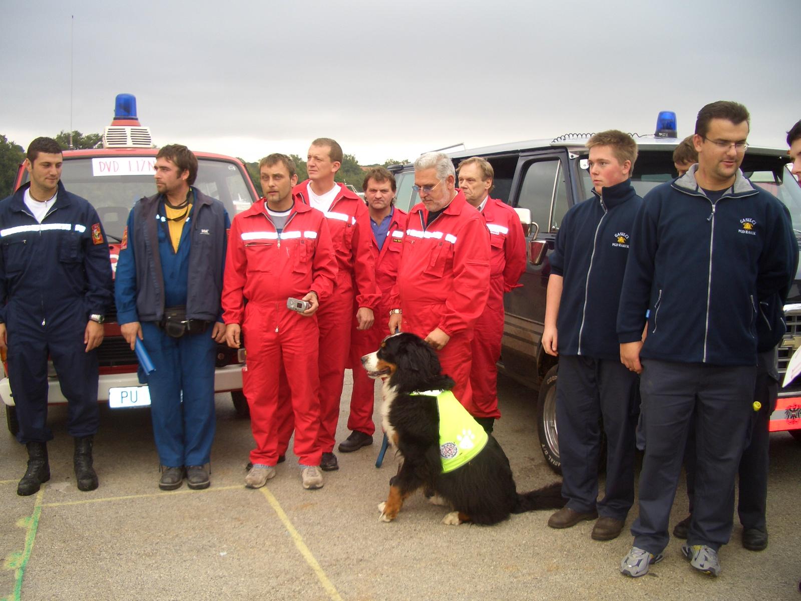 Teilnahme an Feuerwehr-Meisterschaften